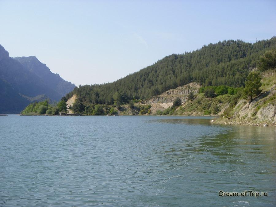 Pыбалка на озере Караджаорен.