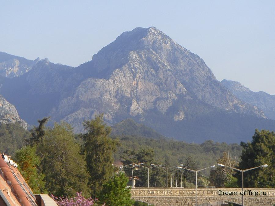 Гора в Кемере.