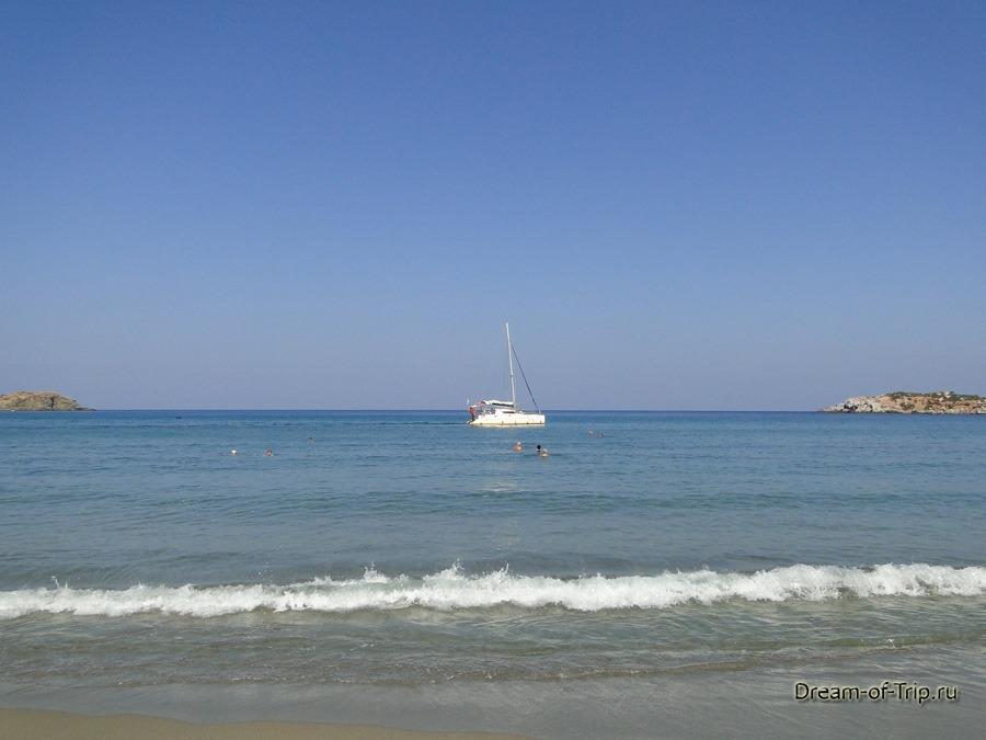 Крит. Море.
