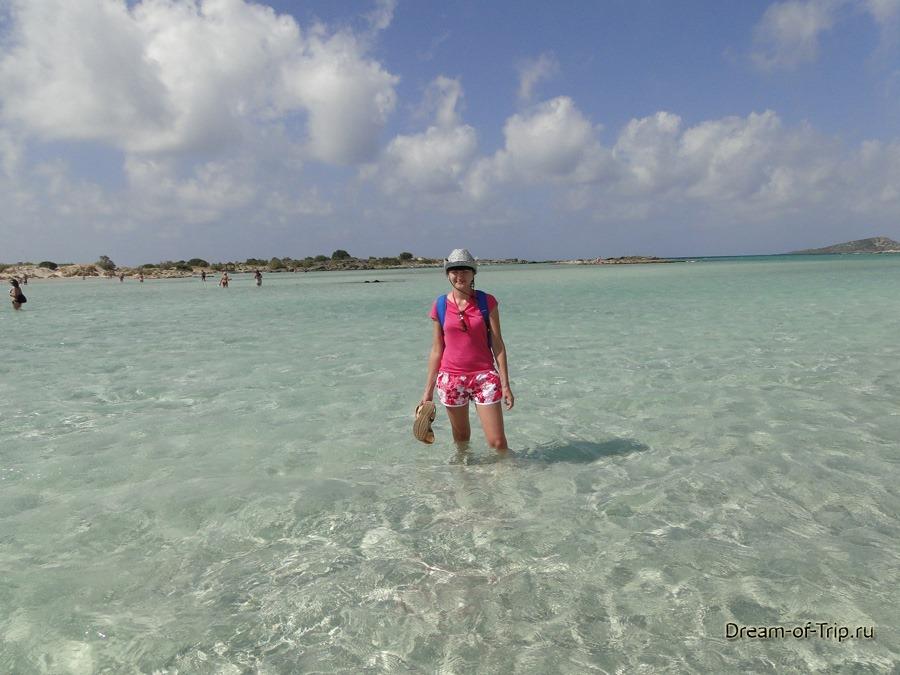 Крит. Море. Пляж Элафониси.
