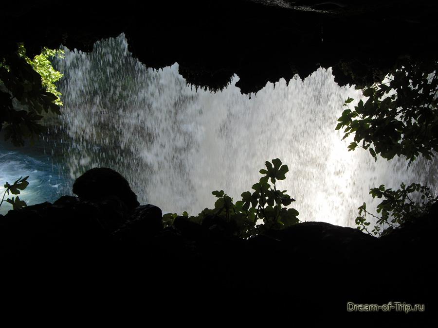 Водопад Верхний Дюден.