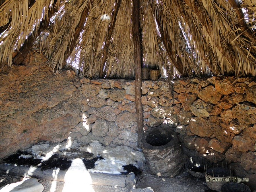 Музей HOMO SAPIENS на Крите.  Крыша.