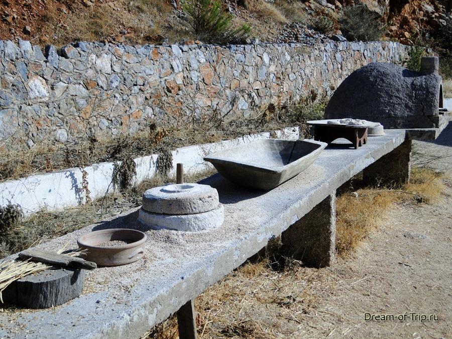 Музей HOMO SAPIENS на Крите. История хлеба.