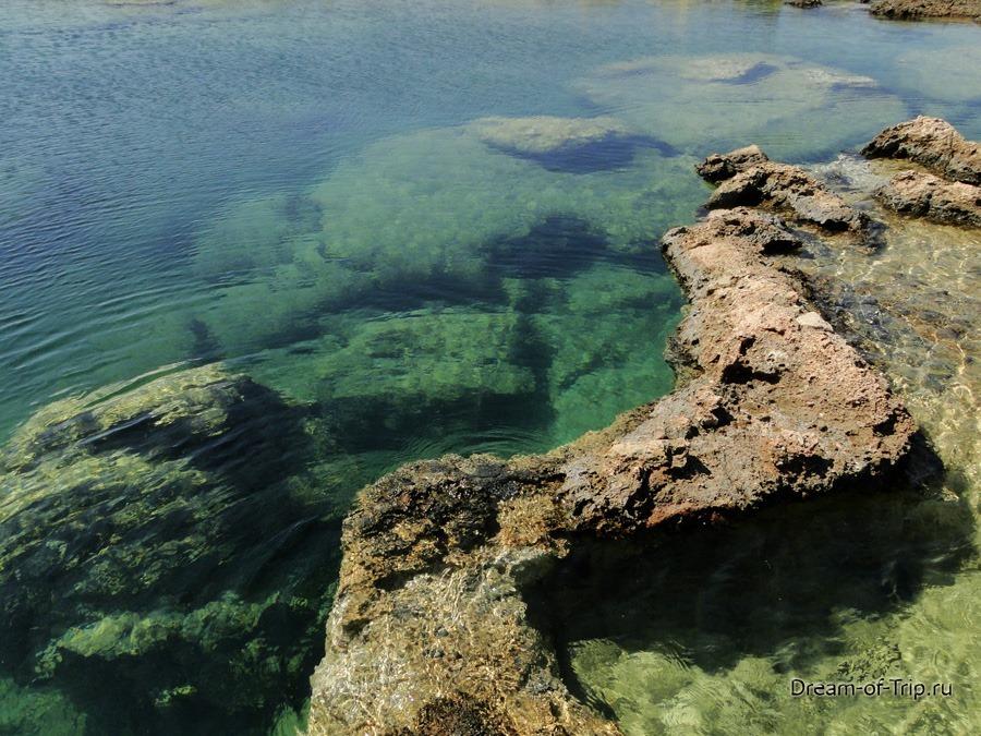 Лагуна Балос на острове Крит. Прогулка.