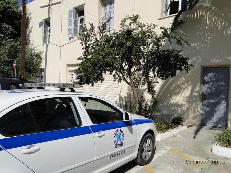 Крит. Полиция.
