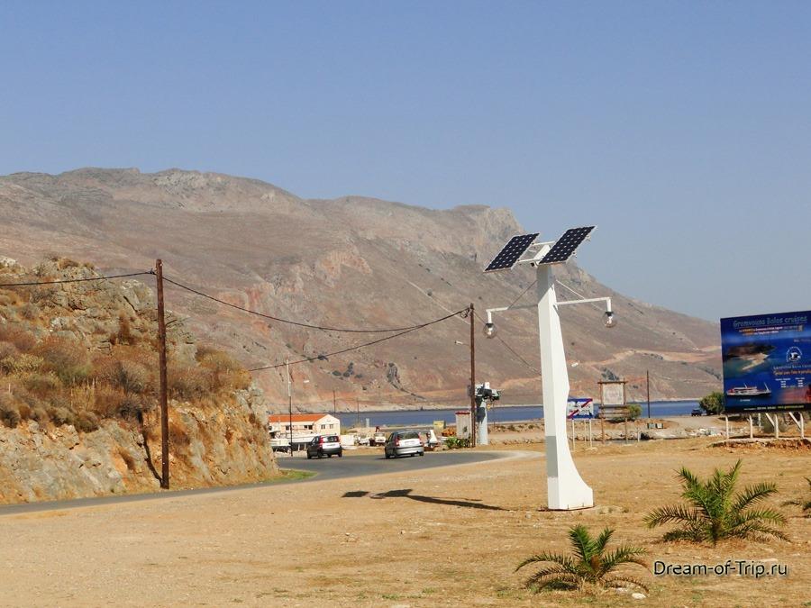 Дороги Крита. Дорога на Балос.