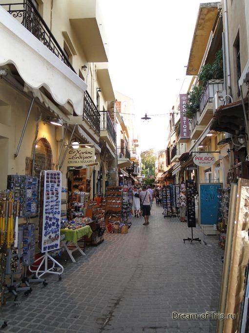 Город Ханья на острове Крит. Сувениры.