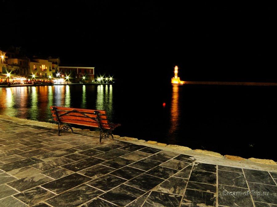 Ночная Ханья. Крит.