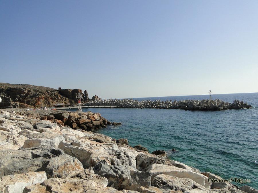 Порт в Хора Сфакион.