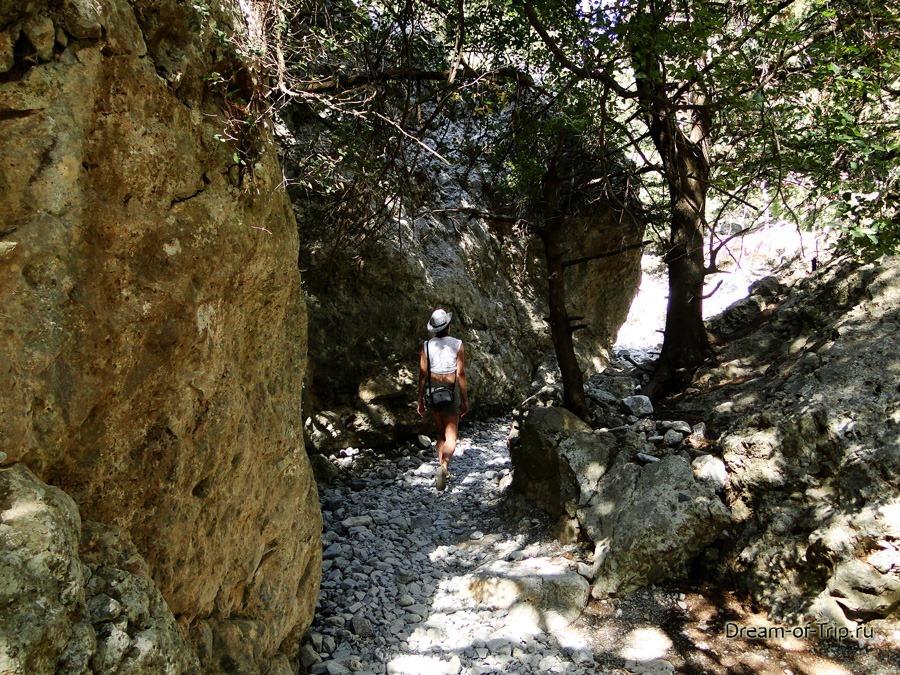 Прогулка по ущелью Имброс.