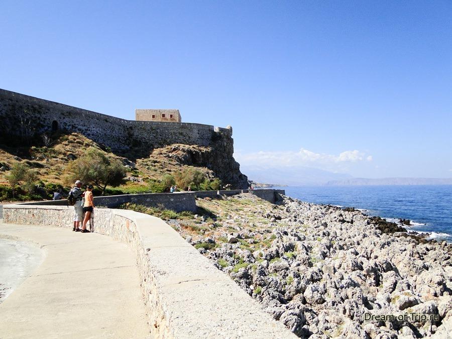 Ретимно. Крит. Вид на крепость Фортецца.