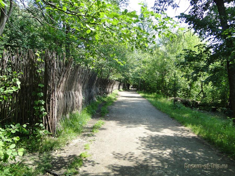 Пешая дорога к последнему Малому Голубому озеру