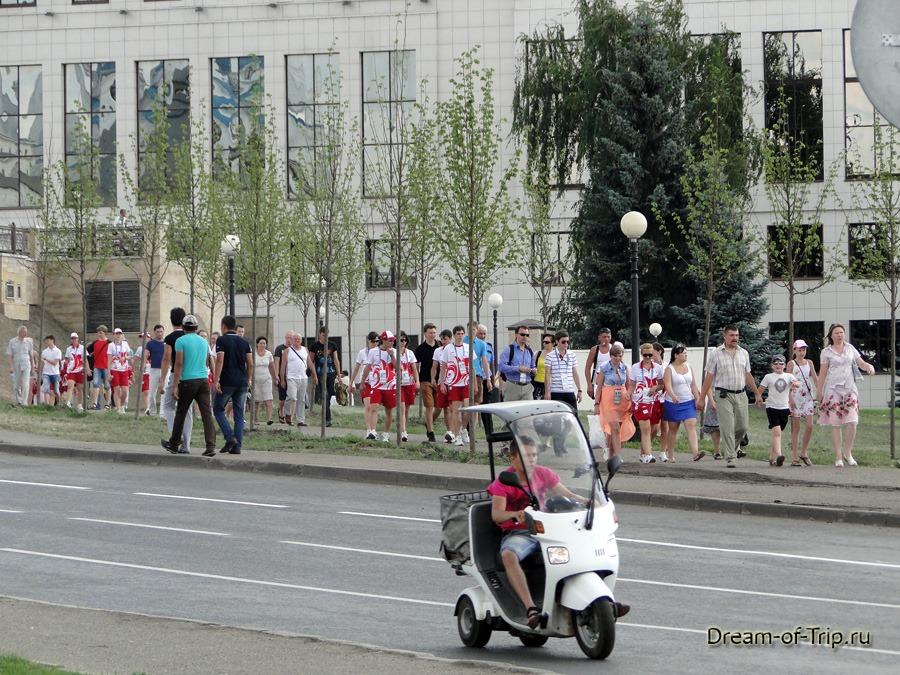 Казань во время универсиады.