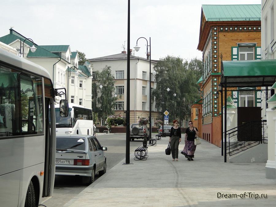 Улица Каюма Насыри. Казань.