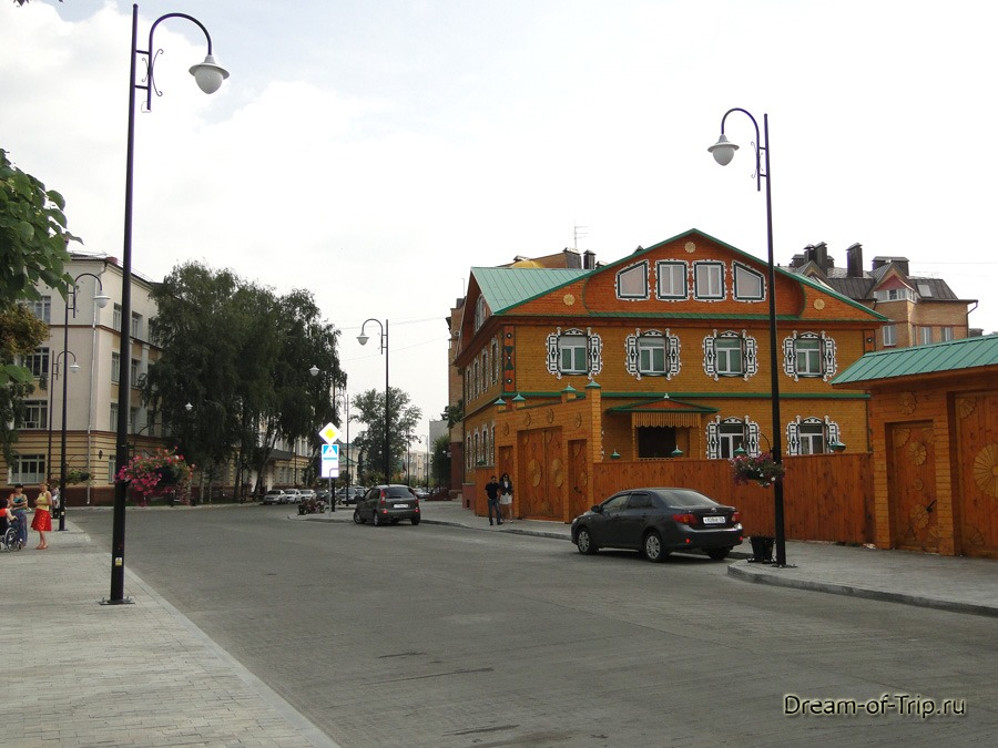 Старо-Татарская слобода. Улица Каюма Насыри.