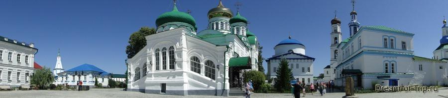Раифский монастырь. Панорама.