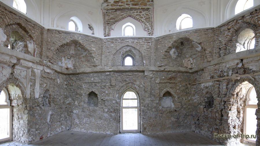 Древний Булгар. Чёрная палата изнутри.