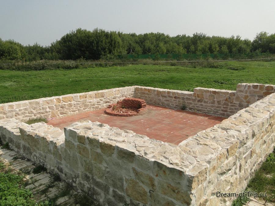 Древний Булгар. Руины.