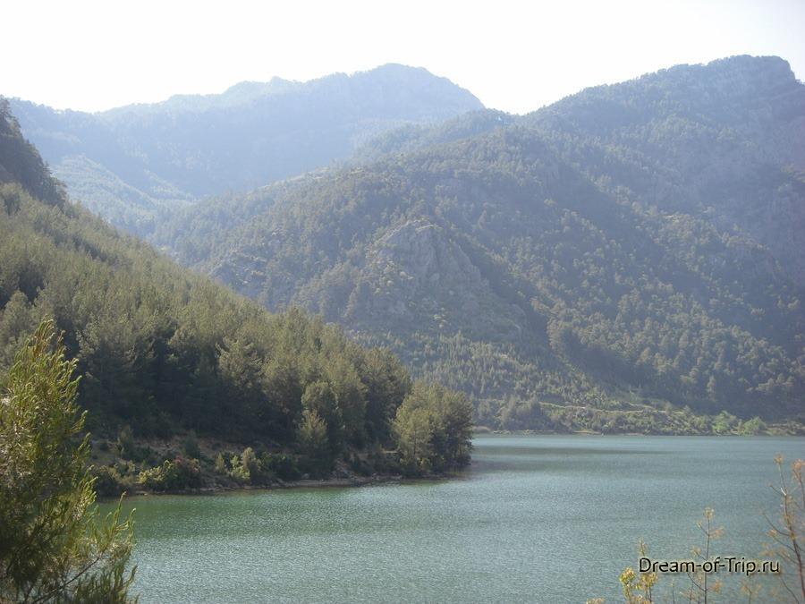 Экскурсия - Pыбалка на озере Караджаорен.