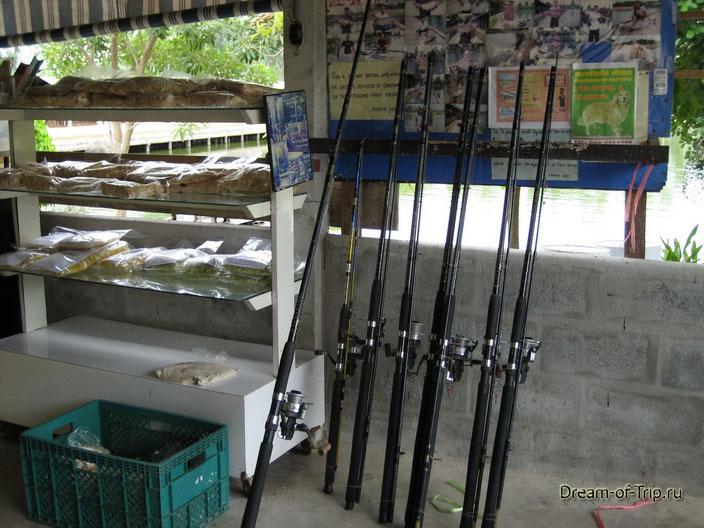 Снасти для рыбалки в Паттайе