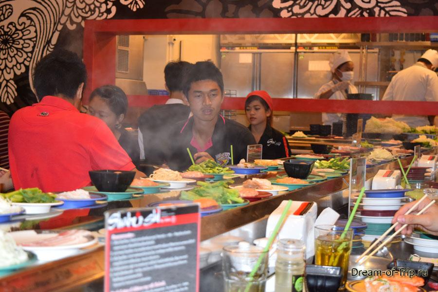 Японский ресторан Шабуши (Shabu Shi)