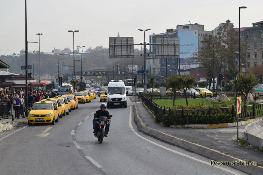 Дороги Стамбула.