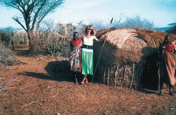Дом Коринны Хофманн в Африке