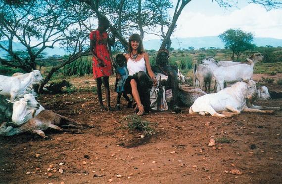Коринна Хофманн фото в Африке