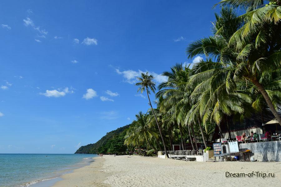 Пляж у отеля Ко Чанг Кача