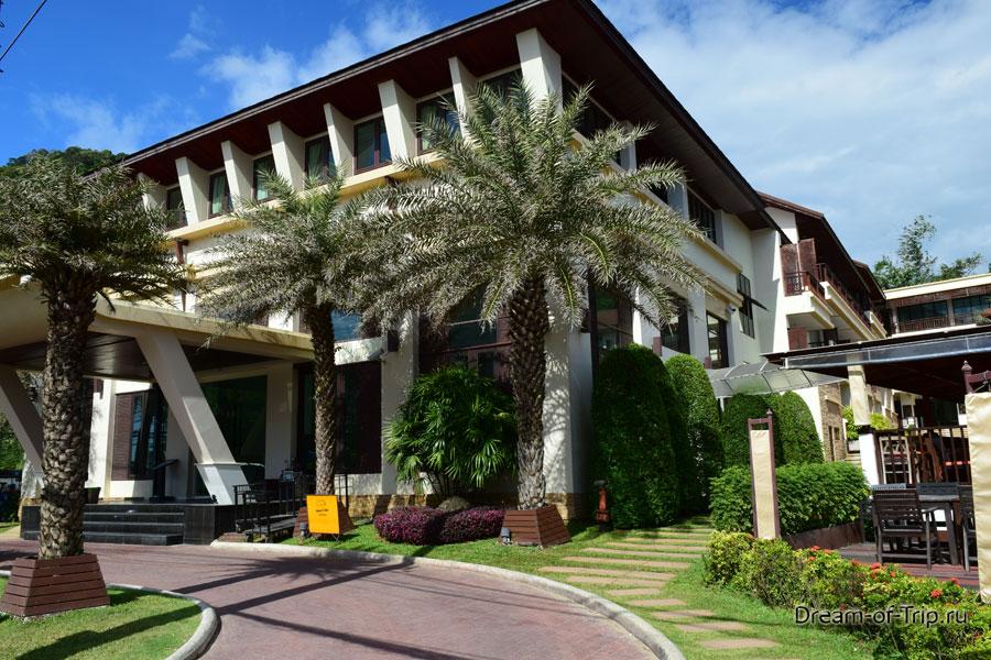 Ресепшн в отеле Ко Чан Кача