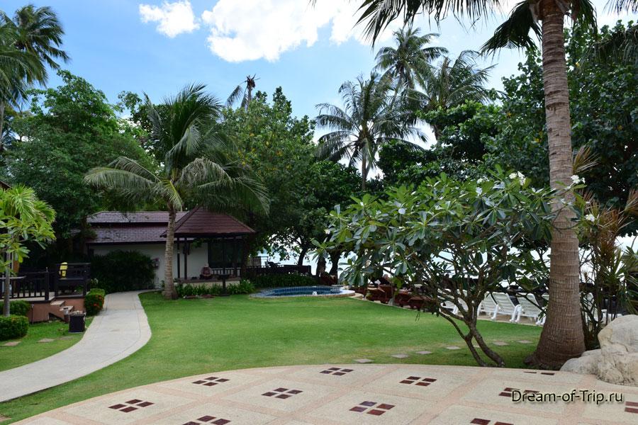 Ко Чанг Кача территория отеля