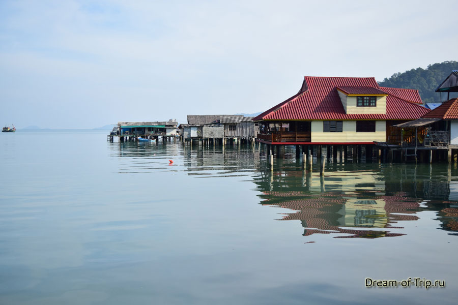 Дома рыбаков в Банг Бао