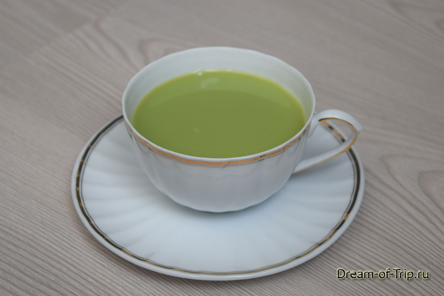 как пить синий чай
