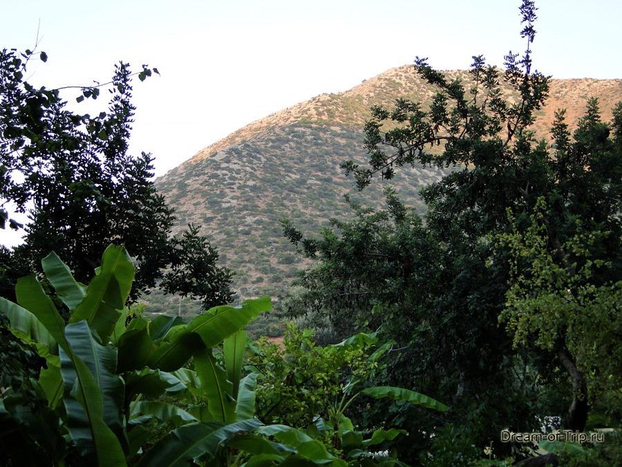 поселок Бали на Крите