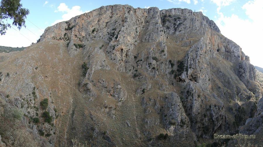 Крит. Горы.