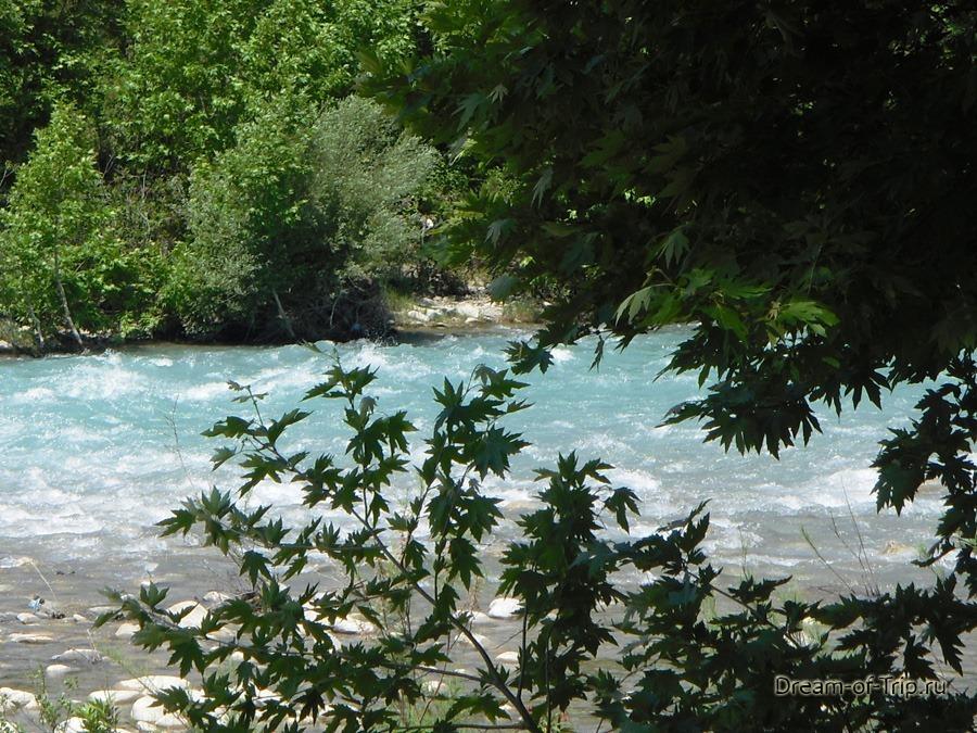 река Кепрючай. рафтинг.