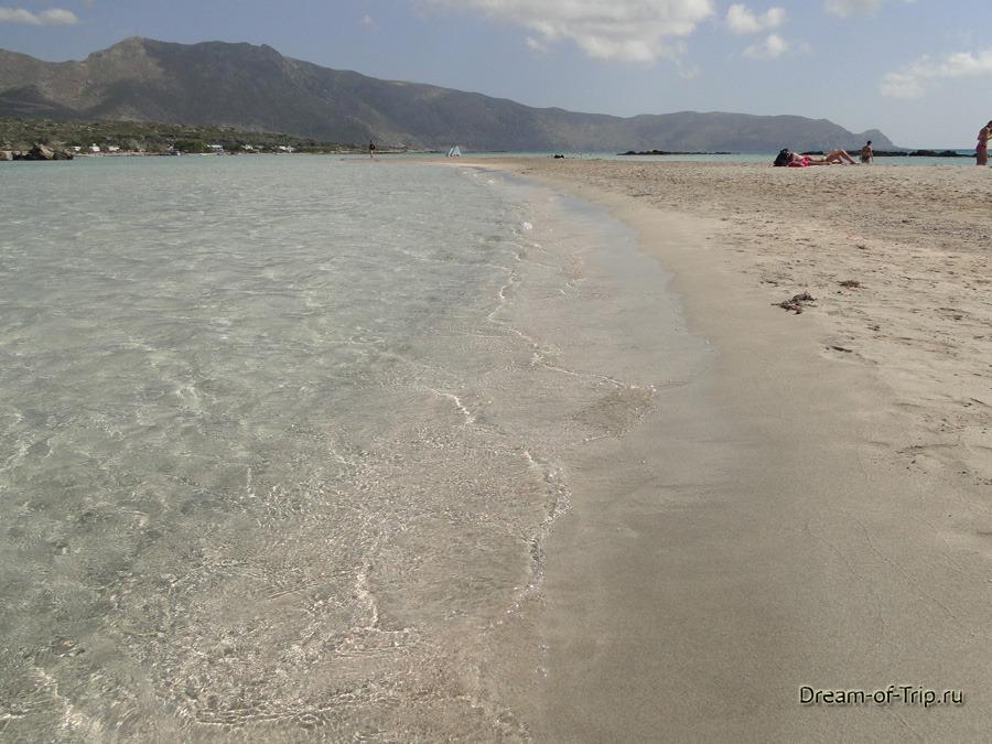 Пляж Элафониси. Водичка.