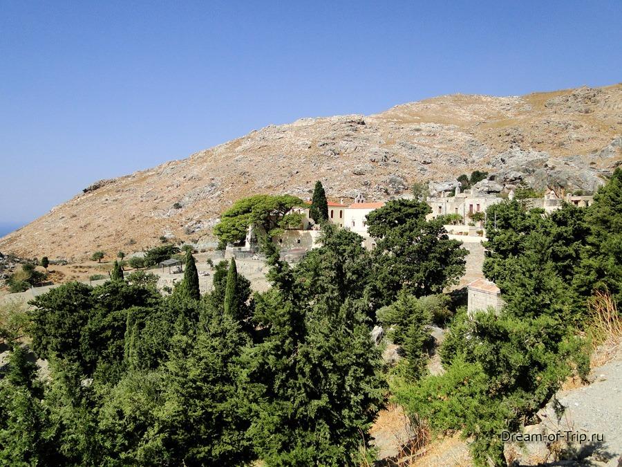 Верхний Монастырь Превели (Piso Moni Preveli).