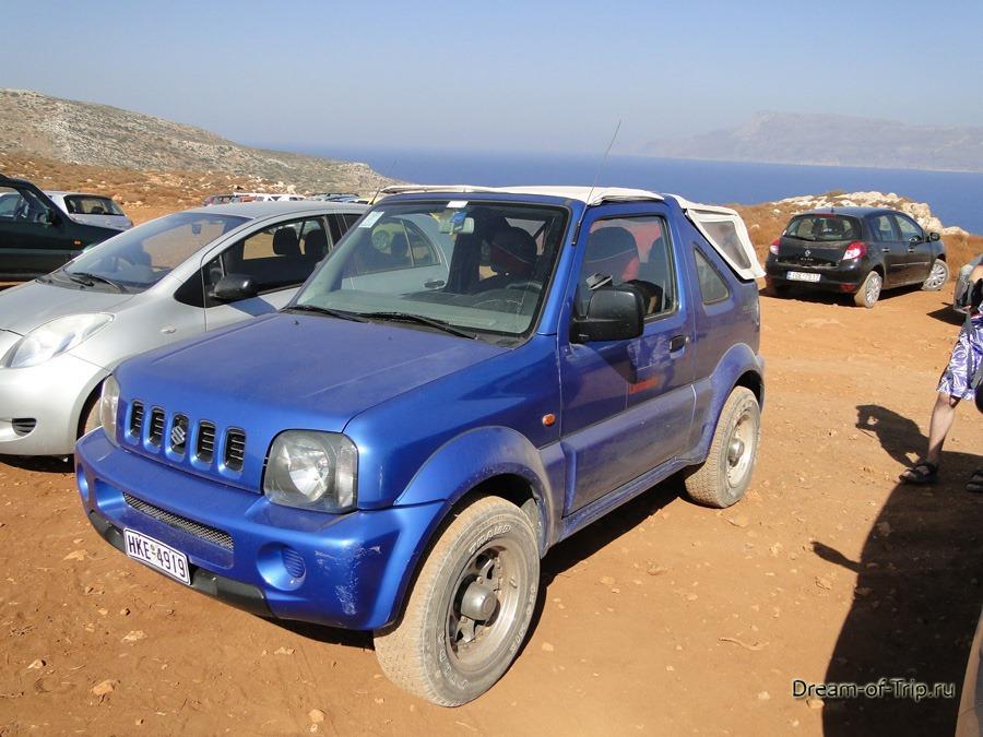 Аренда авто на Крите. Suzuki Jimni.