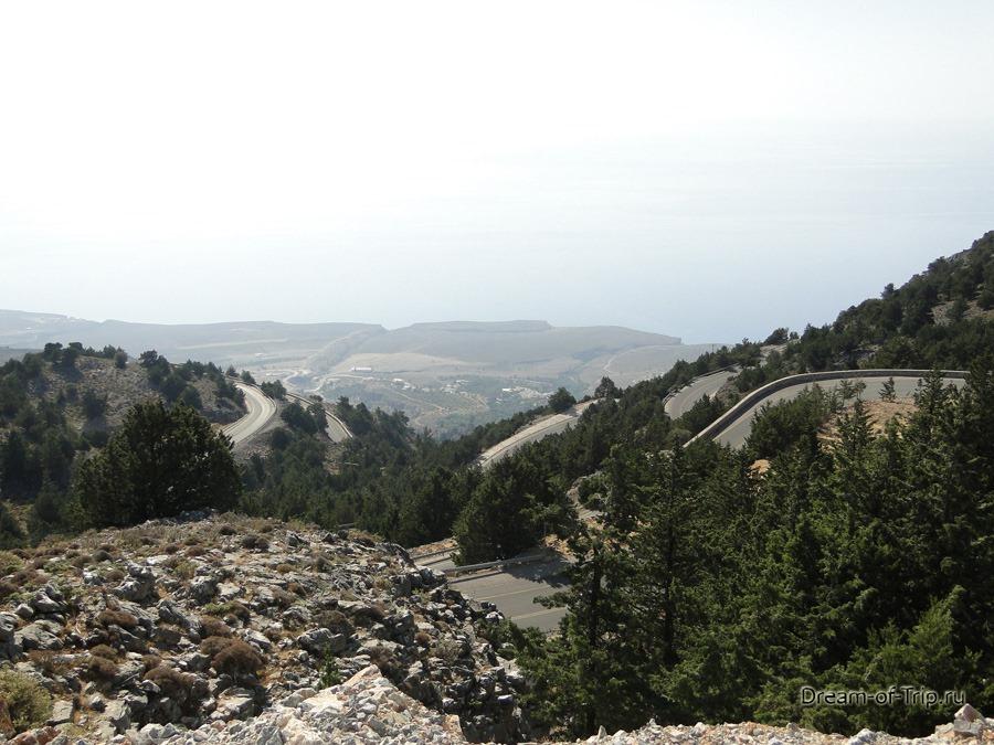Дороги Крита. Серпантины.