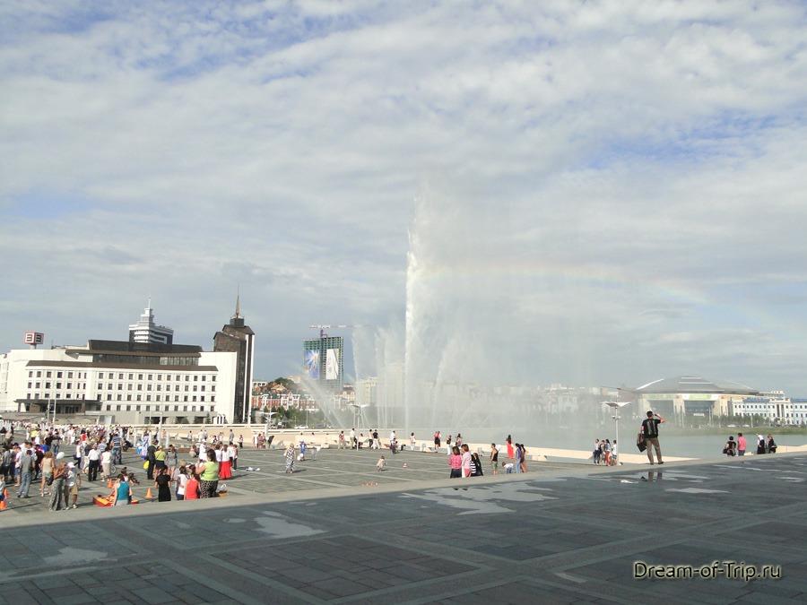 Казань. Большой фонтан на Кабане.
