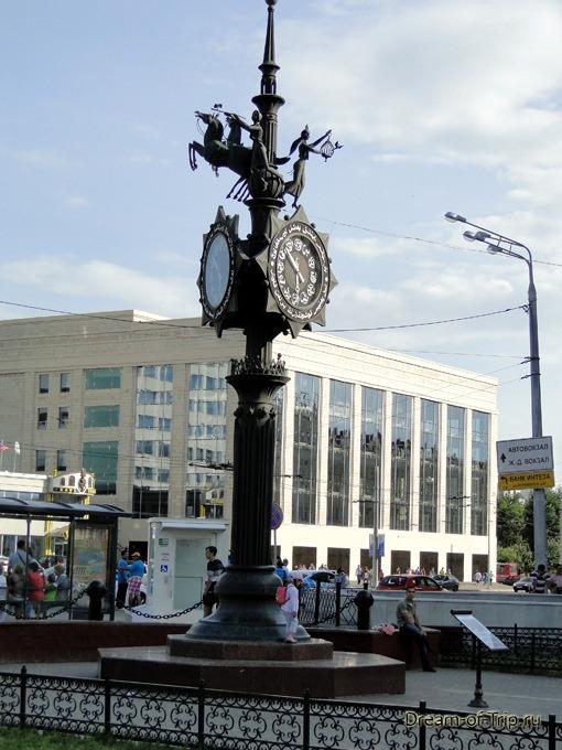 Казань. Часы на Баумана.