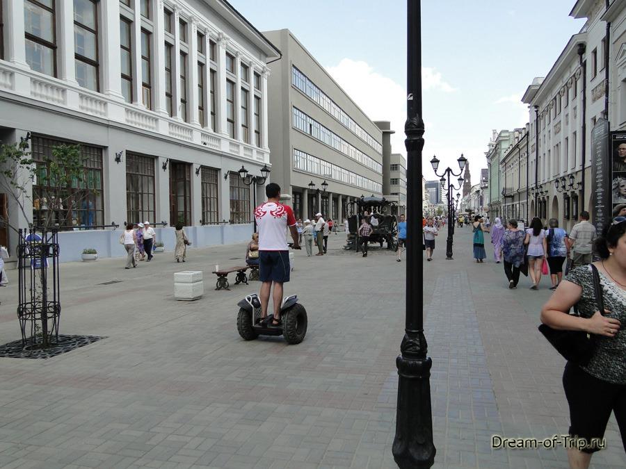 Улица Баумана. Казань.
