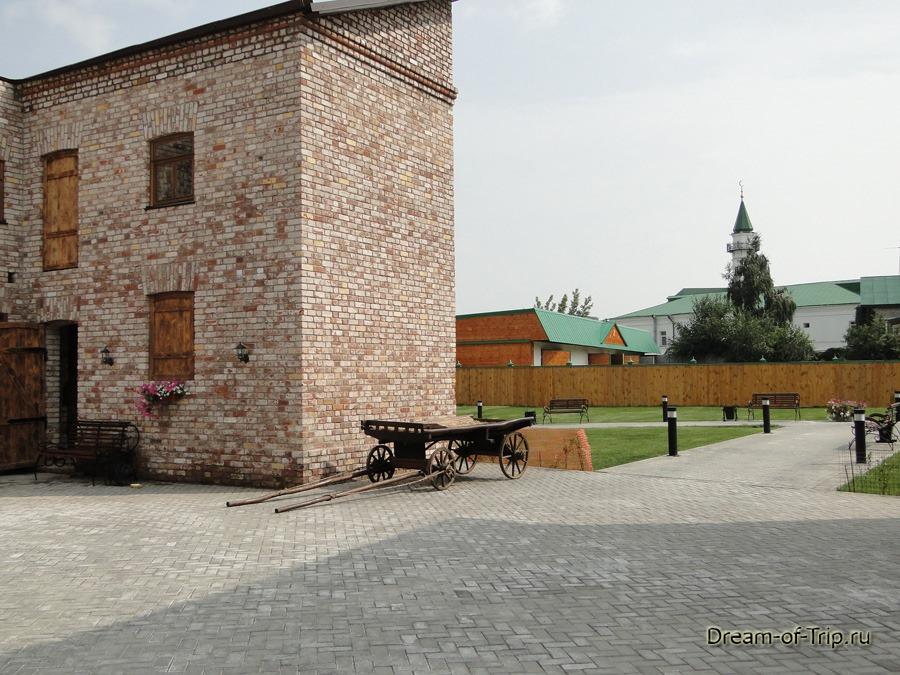 Старо-Татарская слобода. Внутренний дворик.