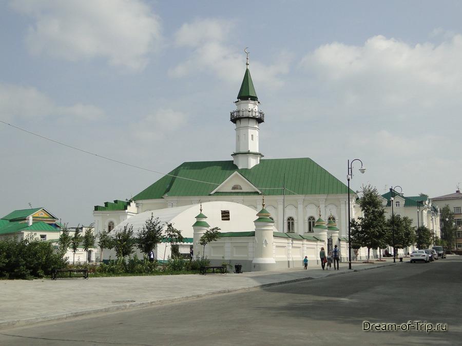 Старо-Татарская слобода. Мечеть Марджани.