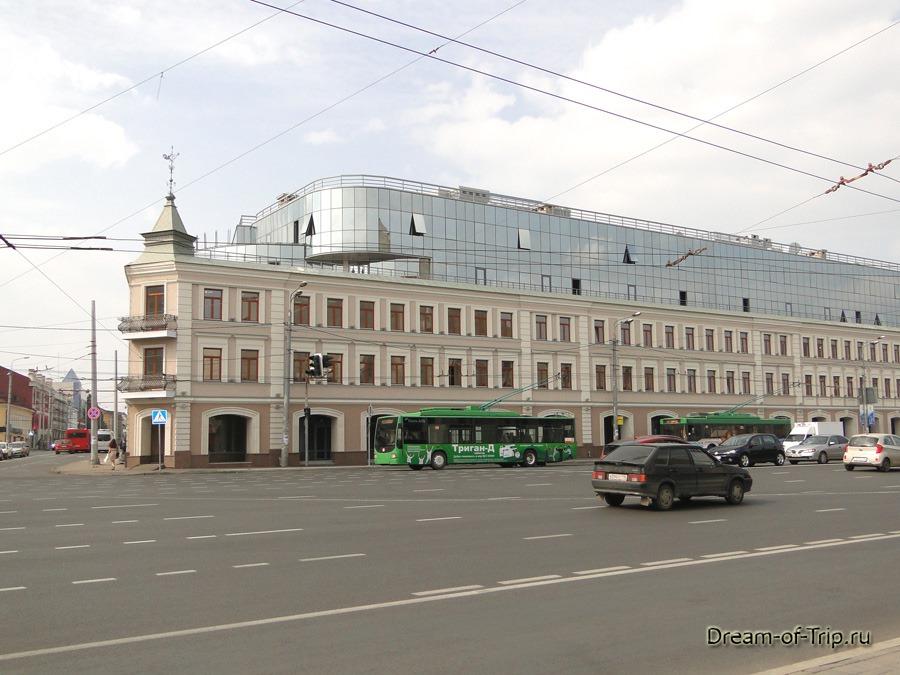 Казань, улица Татарстан.