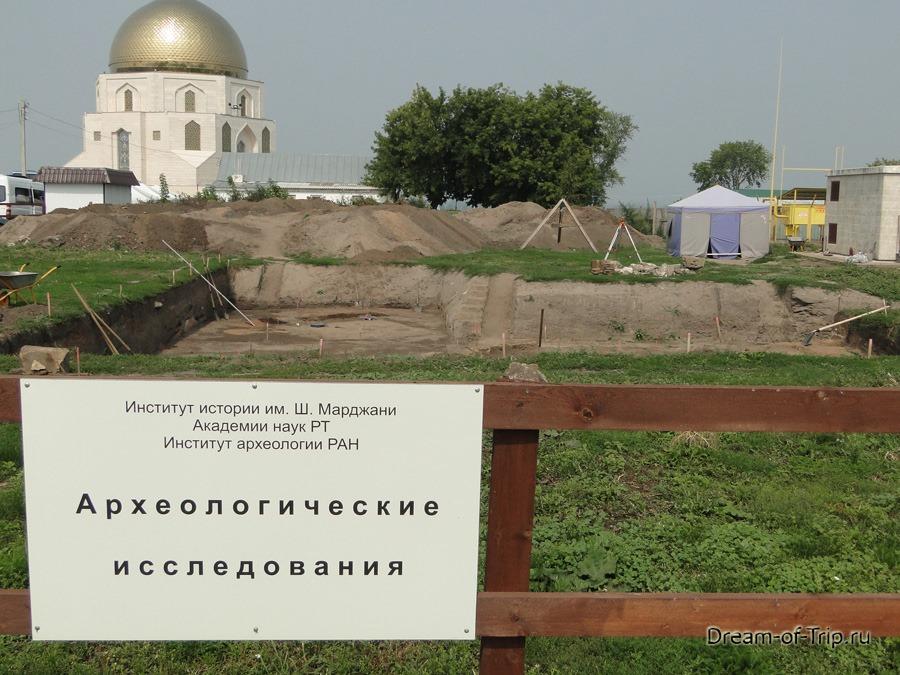 Древний Булгар. Археологические исследования.