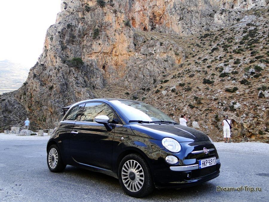 Аренда авто на Крите. Fiat 500.