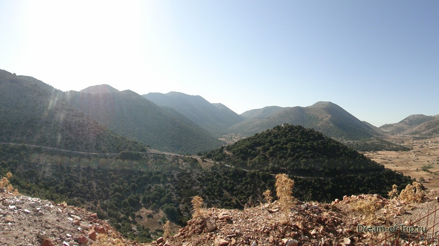 Маршрут по Криту.