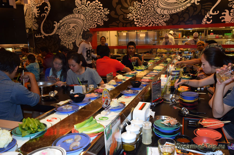 Японский ресторан Shabu Shi в Паттайе